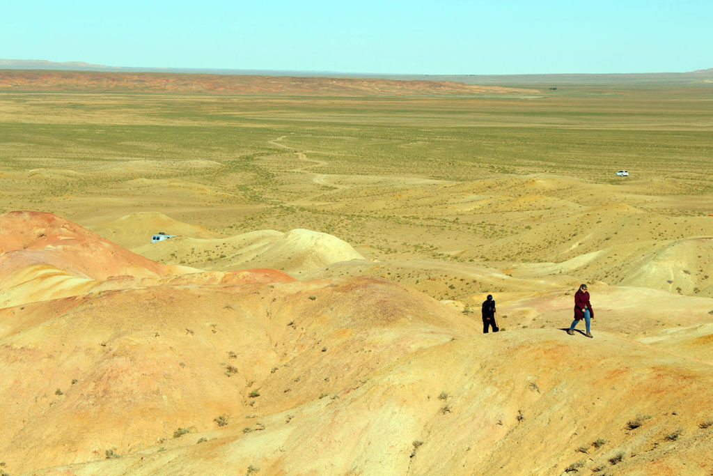 May in gobi desert