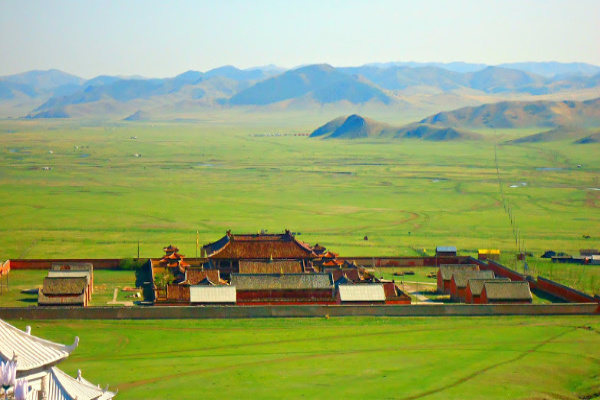 amarbayasgalant monastery in central mongolia