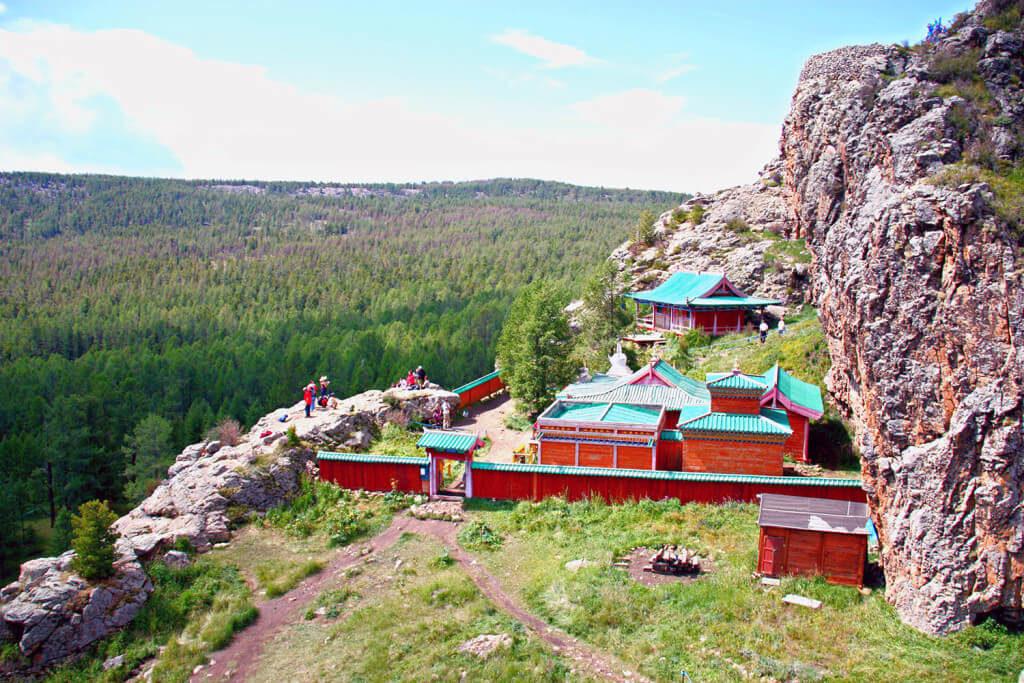 Tuvkhun monastery Mongolia